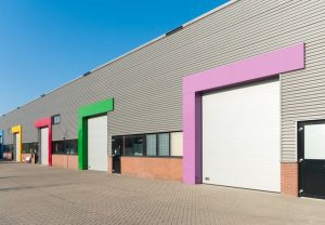 Colour options on commercial buildings