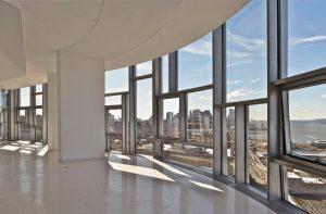 Apartment with aluminium windows.